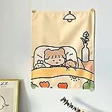DPNGK tapizTela Colgante de Fondo Tela Chica Dormitorio decoración Dormitorio Pared...