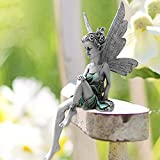 OFOCASE Hadas Figuras Decoracion Figuras Jardin Exterior, Hadas Jardin Exterior Figura...