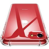 CANSHN Funda para iPhone SE 2020/8/7,Carcasa Protectora Antigolpes Transparente con...