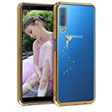 kwmobile Carcasa Compatible con Samsung Galaxy A7 (2018) - Funda de TPU Hada en...