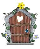 Fountasia - Puerta de Hadas, dise帽o de coraz贸n y Flor Amarilla