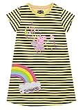 Peppa Pig Vestido para niñas Multicolor 7-8 Años