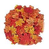 MY99 USHOMI 100 hojas de arce artificiales de seda otoño falso follaje de Acción de...