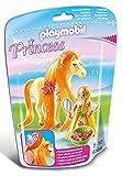 PLAYMOBIL - Princesa Sol con Caballo Playsets de Figuras de jugete (6168)