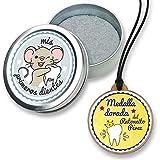 FANS & Friends Caja para dientes de leche con medalla para niños y niñas, Caja para...