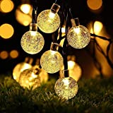 LEDGLE Luces de Burbuja de Hadas LED impermeable luz de Bola de Cristal con 8 modos...