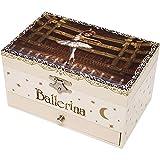 Trousselier - Joyero Musical Bailarina Que Brilla en la Oscuridad, Rosa (S60111)
