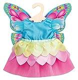 Heless- Vestido de Hada para muñecas de 35 a 45 cm, Multicolor (2030)