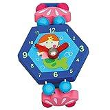 Bind 9086041 - Reloj de Madera, ¿por qué de Hadas, Color: Azul