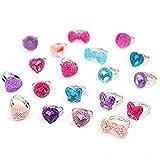 Beyond Dreams® 13 anillos infantiles transparentes aptos | regalo para fiestas de...