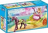 PLAYMOBIL Hadas- Flor con Carro, única (9136)