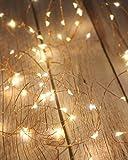 Litogo Guirnalda Luces Pilas, Luces LED Pilas[2 Pack], Luces LED Habitacion 5m 50 LED...