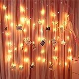 LED clips de fotos Luces de hadas para la decoración de la habitación - imágenes de...