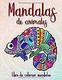 Mandalas de animales: 50 mandalas de animales para niños a partir de 10 años,...