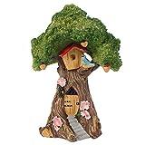something different Casa en el árbol jardín de Hadas, Color marrón y Verde