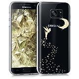 kwmobile Carcasa Compatible con Samsung Galaxy S7 - Funda de TPU Hada Brillante en...