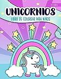 Unicornios: Libro de colorear para niños: 4-9 años: Un bonito cuaderno de actividades...