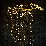 HopeU5 LED Lámparas de Ventana Lámparas de Carámbano, 280 LEDs 14 Cuerdas de Luz de...