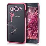 kwmobile Carcasa Compatible con Samsung Galaxy J5 (2015) - Funda de TPU Hada en Rosa...