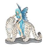 Nemesis Now B1937F6 Hima Companion - Figura Decorativa (26 cm), Color Azul
