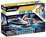 PLAYMOBIL Star Trek 70548 U.S.S. Enterprise NCC-1701, Con aplicación AR, efectos de luz y...