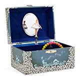 Jewelkeeper - Caja de Música para Joyas, con Hada Estrellada Azul y Blanca - Melodía del...