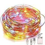 Led Fairy String Lights, Battery Powered/USB Plug in, 2 Modes, 100 LEDs 10M/32Ft...