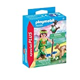 PLAYMOBIL- Special Plus Especial Hada+Cervatillo, Color carbón (70059)