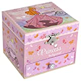 SONGMICS Bailarina JMC011PK - Caja de música para niños, diseño de princesa y...
