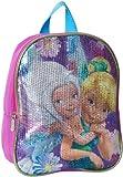 Disney Mochila pequeña con lentejuelas para niñas pequeñas
