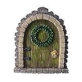 Puerta de jard铆n de hadas MUAMAX, puerta en miniatura para puerta de jard铆n de hadas...