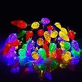 Ansody 16 pies, 50 LED Cadena de luces LED de Navidad de, luces decorativas multicolores,...