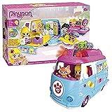 Pinypon Ambulancia de Mascotas, muñeca y Accesorios (Famosa 700012751)