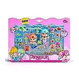 Pinypon Sirenitas pack grande de 6 figuras (Famosa 700013480) , color/modelo surtido