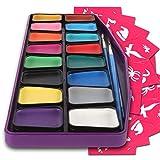 Colorful Art Co Set Pintura facial - Pintura facial infantil premiada - Kit pintura...