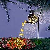 Star Shower Garden Art Light, Lámpara Solar para Jardín IP65 Impermeable LED Luz De...