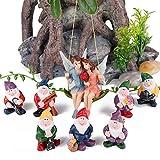 VAINECHAY Decoración para el hogar, estatua de jardín al aire libre, decoración de...