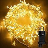 Luces de Hadas, 23M 200 LED Cadena de Luces con Enchufe, Guirnalda Luces IP44 Impermeable...
