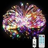 BITIWEND Guirnalda Luces 20M 200 LED, Cadena de Luces Impermeable IP65, DIY USB Luces...