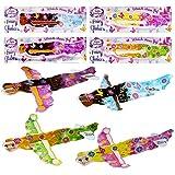 THE TWIDDLERS 48 Planeadores Voladores Aviones de Hadas: Niñas, Piñatas, Regalos