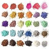 MENNYO Pigmentos para Resina Epoxi, 5g*30 Colores Pigmentos en Polvo, Mica en Polvos para...