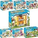 PLAYMOBIL® City Life - Juego de 7 piezas 9266 9267 9268 9269 9270 9271 9272 para vivienda...