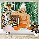 NHhuai Tapiz Dormitorio Sala Dormitorio Decoración Toalla de Playa Colorida Impresa del...